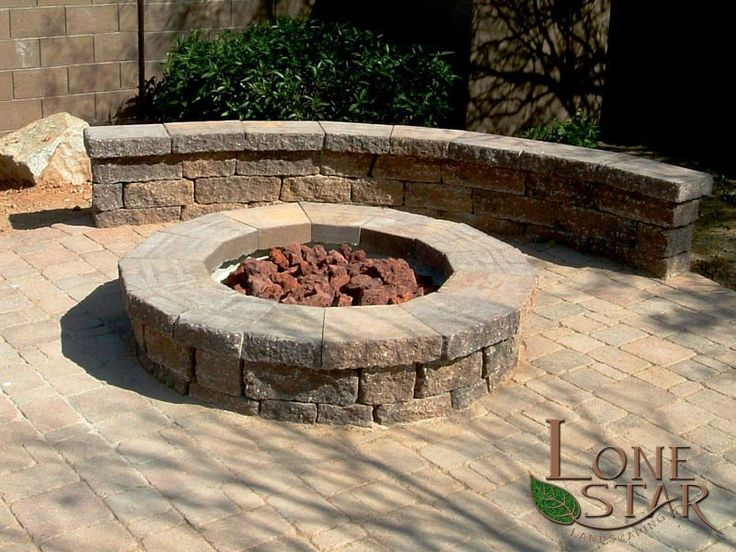 Belgard Celtik Wall Fire Pit And Bench In Phoenix Az