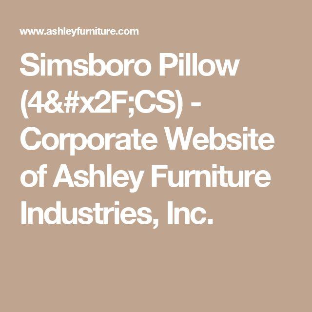 Simsboro Pillow (4/CS) - Corporate Website of Ashley Furniture Industries, Inc.