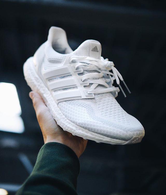 size 40 cff07 45510 Adidas Ultra Boost 2.0 Triple White
