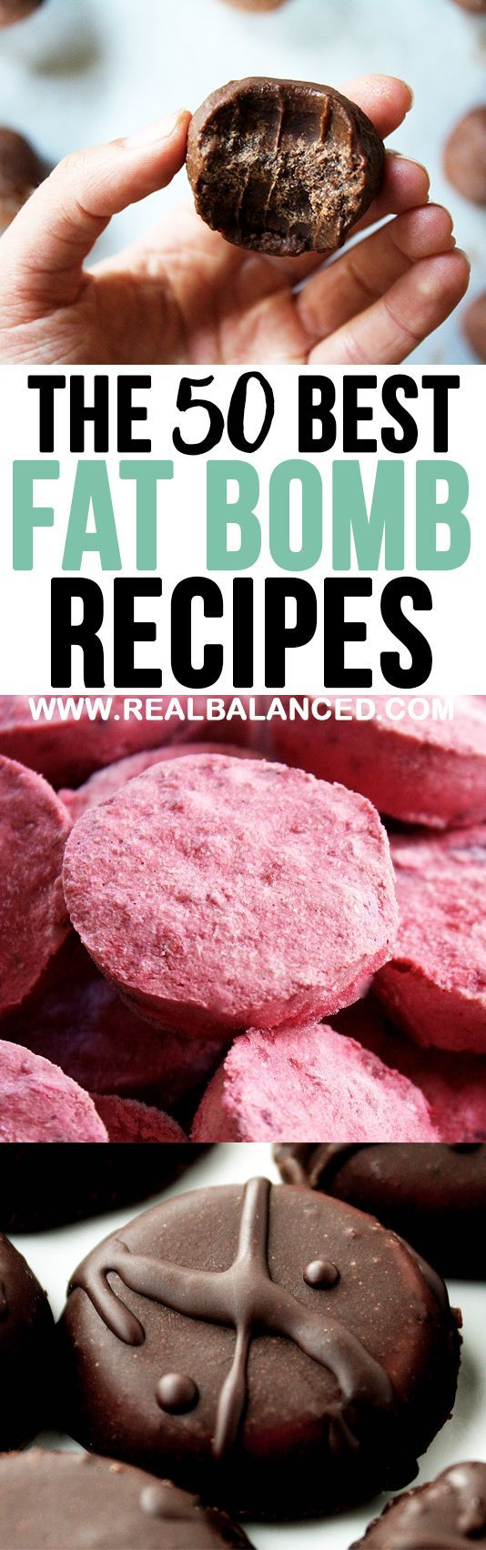 The 50 Best Fat Bomb Recipes #fatbombs #keto #ketogenic #lchf #lowcarb