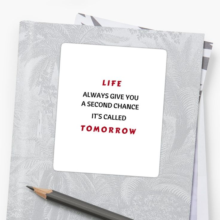 Life never gives second chance quotes by famous people