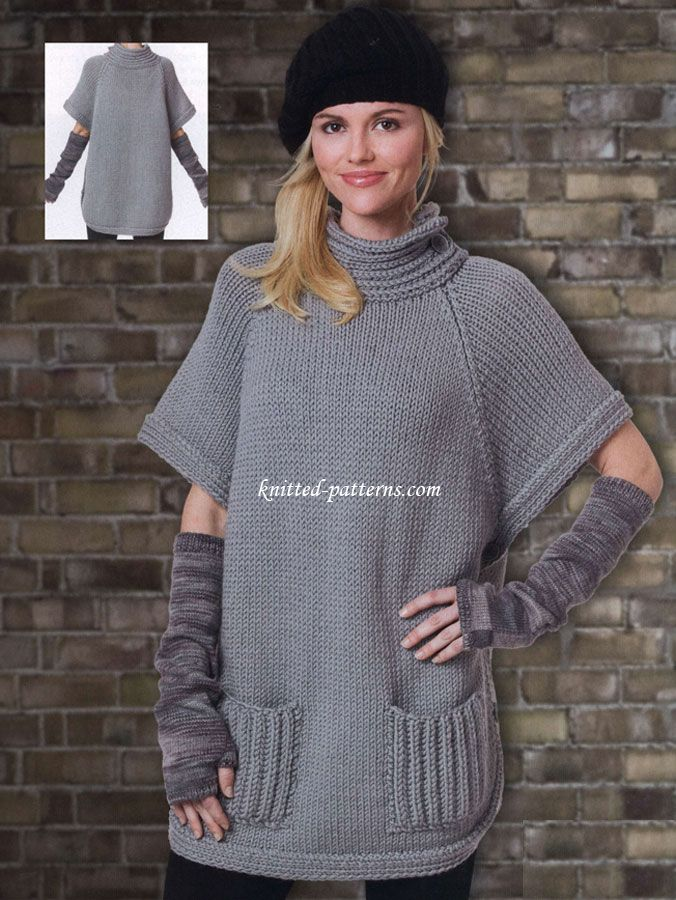 Perfect Poncho Patterns Free Knitting Festooning Blanket Knitting