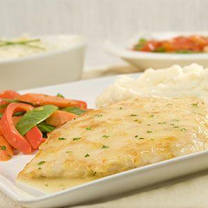 Easy Chicken Francese | MyRecipes.com