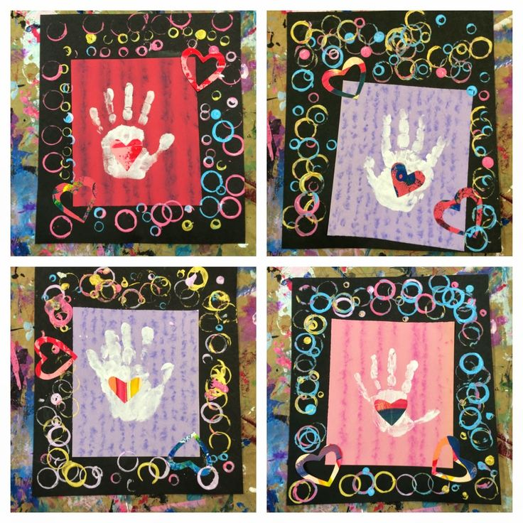 Rainbow Skies & Dragonflies: Hands and Hearts