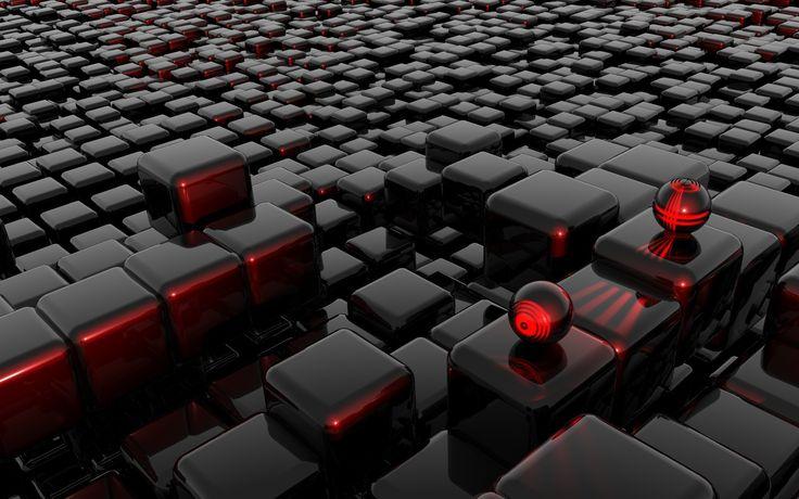 3D Wallpaper | The Cube 3D Wallpaper
