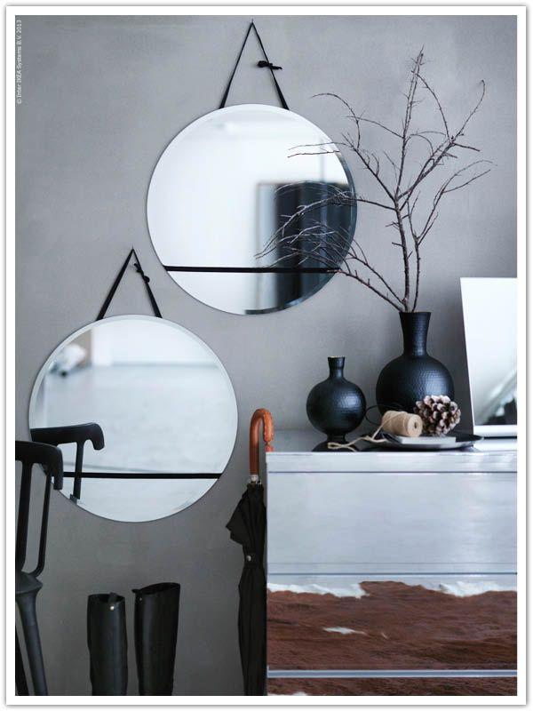 ber ideen zu runde spiegel auf pinterest spiegel wandspiegel und ovaler spiegel. Black Bedroom Furniture Sets. Home Design Ideas