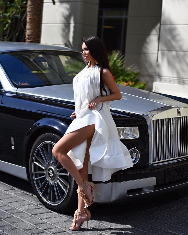 Pin by Anica Janjic on cars & girls | Dresses, White dress ...