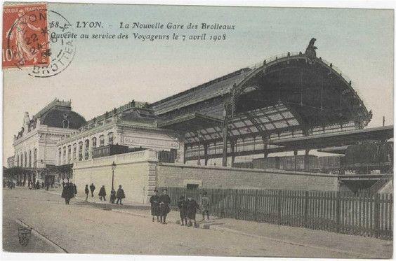 Gare des Brotteaux. Lyon 6.