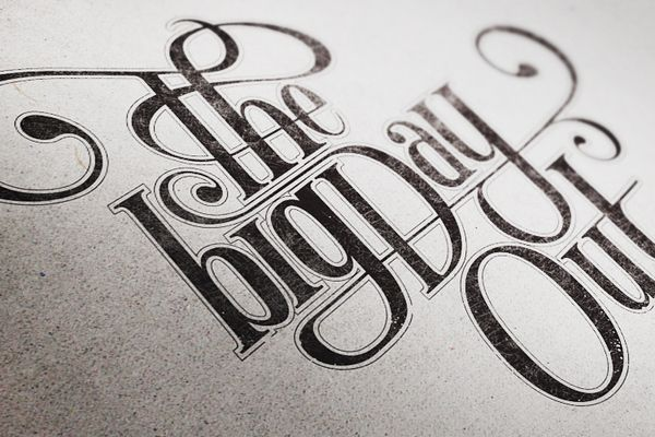 Mats Ottdal-3: Design Inspiration, Graphic Design, Typography Projects, Art, Mats Ottdal, Type, Big, Hand Lettering