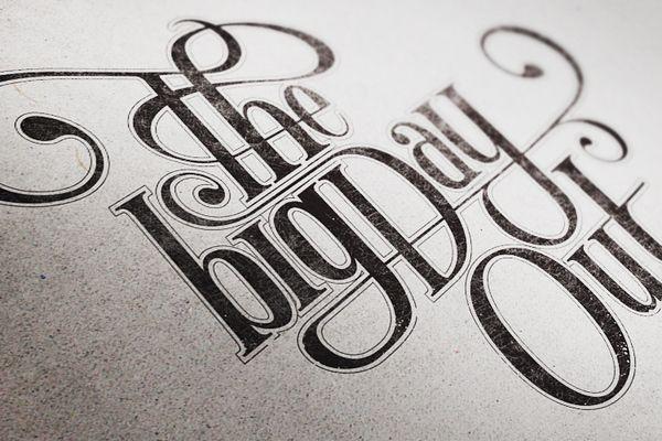 font: Design Inspiration, Typography Projects, Graphics Design, Bigday, Mats Ottdal, Mr. Big, Inspiration Quotes, Typography Inspiration, Big Day