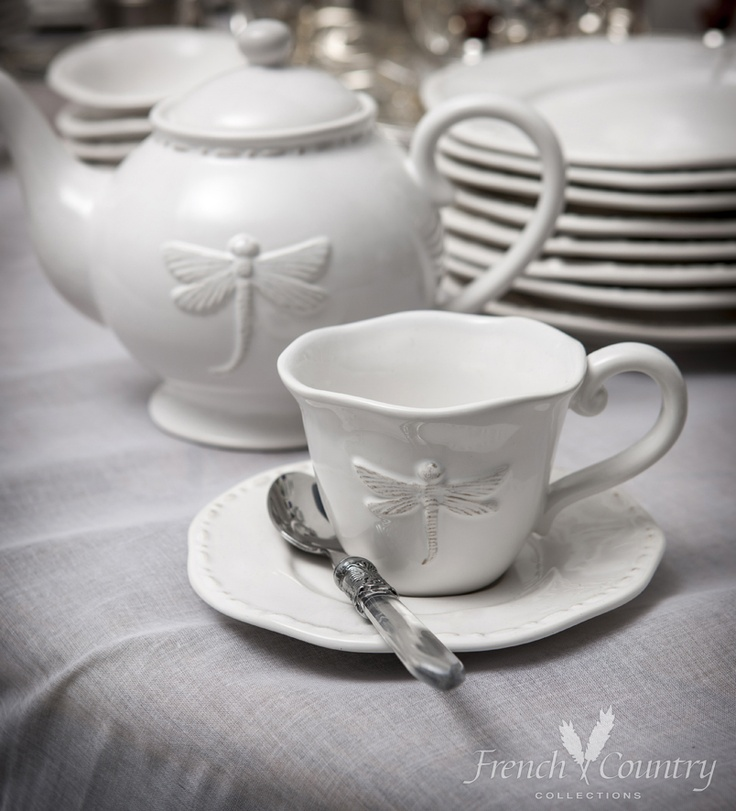 French Country Collections Dragonfly Dinnerware