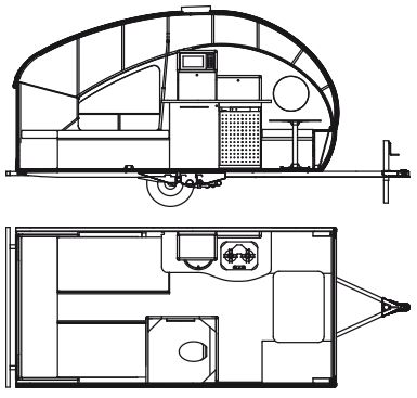 Lessons from the Trailer Park: Alto teardrop popup packs a lot into a tiny, lightweight package : TreeHugger