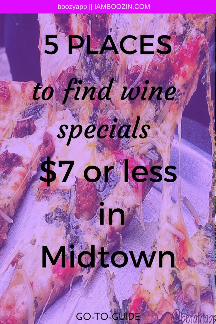 Happy Hour Midtown | 5 Places To Find Wine Specials $7 Or Less In Midtown [GO-TO-GUIDE]...Click through for more!   Happy Hour Midtown Midtown Happy Hour Happy Hour NYC NYC Happy Hour New York Happy Hour Happy Hour New York