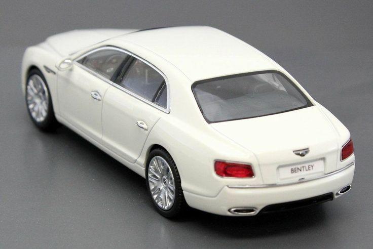 Bentley Flying Spur V12 in Glacier White 1:43 Scale Model Kyosho 05561GW