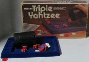 Deluxe Triple Yahtzee, Dice Game