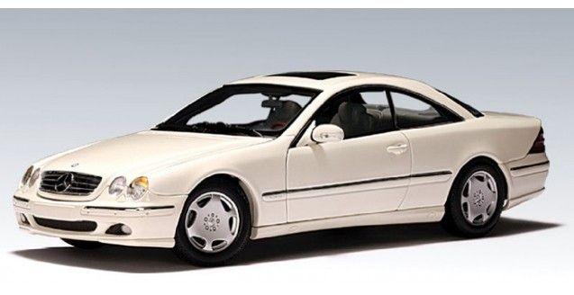 Mercedes CL 600 White AUTOart 70113