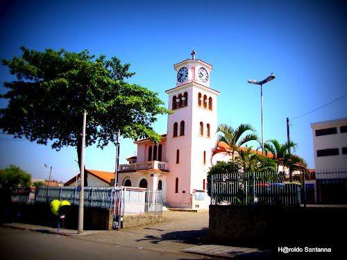 Igreja antiga de Santa Rita - Vila Santana - Sorocaba SP.