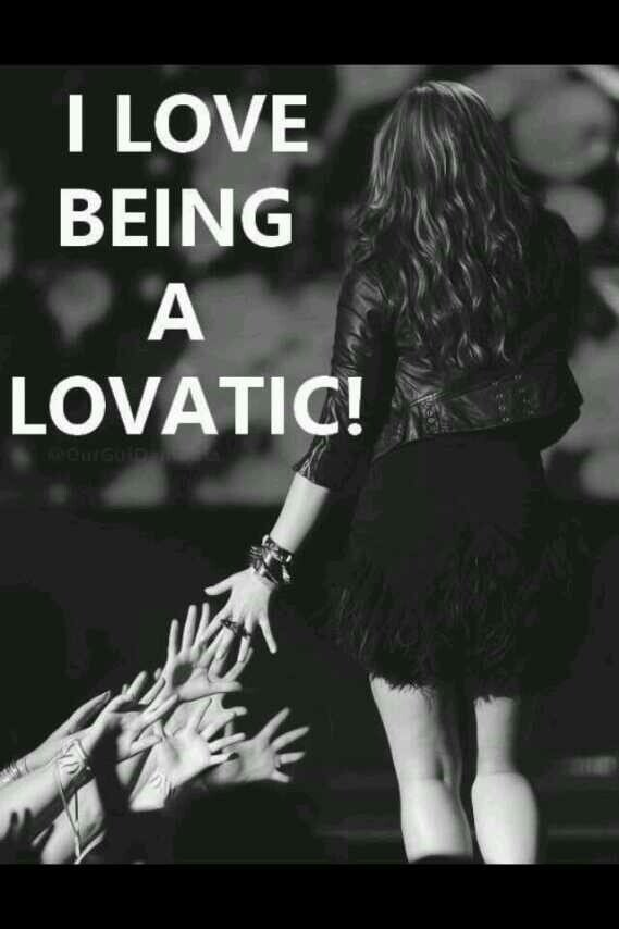 I love being a Lovatic