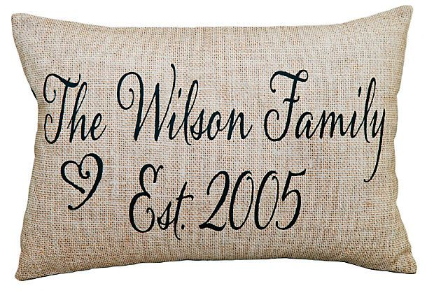 Personalized Pillow.