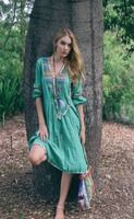 Ruby Yaya - Libety Festiva Dress - Emerald