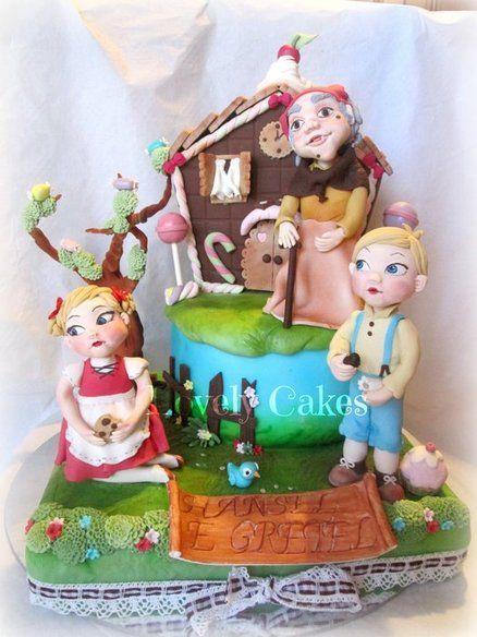 Hansel And Gretel House Birthday Cake