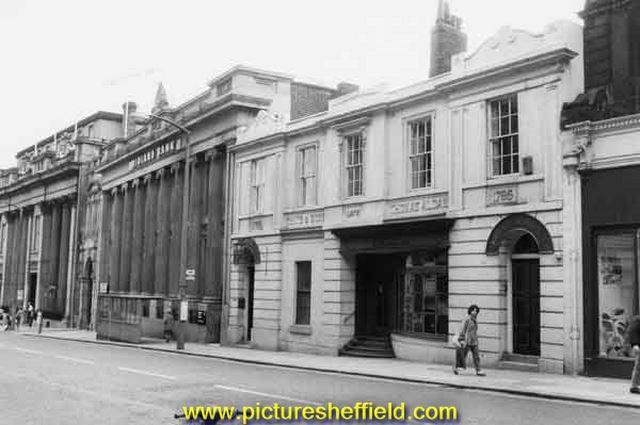The Stone House Public House, Church Street, showing Midland Bank (left)
