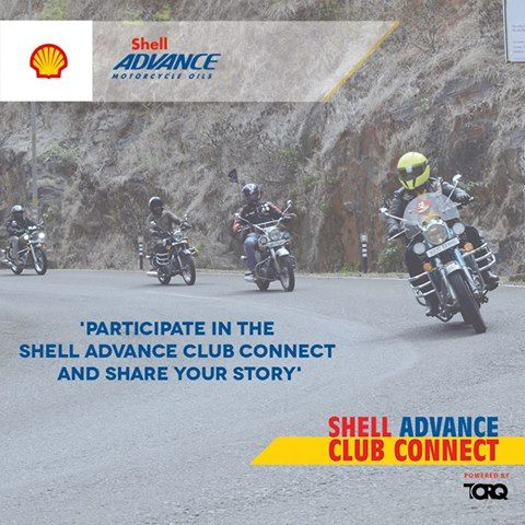 Shell Advance Club Connect @TORQ App.  Find out more about the motorcycling community, their stories, their accolades & their pulse. Download the TORQ app from Playstore, share your club's story and stay connected. #TheWinningIngredient