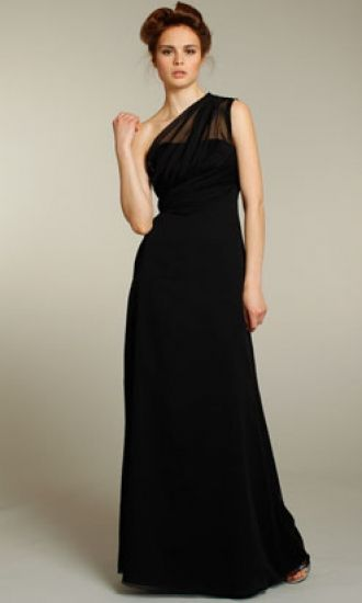 Sheath One Shoulder Chiffon Formal Dresses/Long Evening Dresses FAU1404P800404