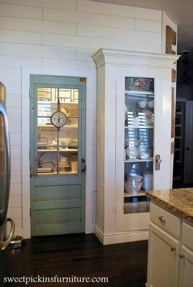 Sweet pantry door...