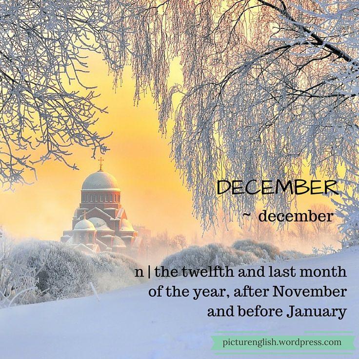 December / December