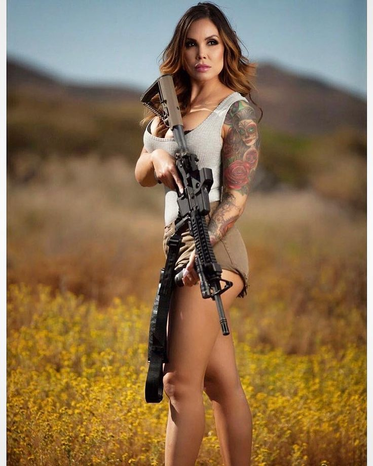 2431 Best Babe With Guns Images On Pinterest
