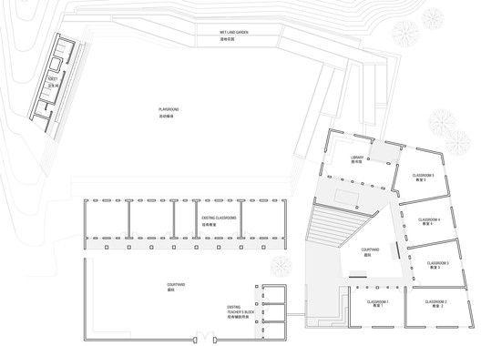Mulan Primary School,Site Plan