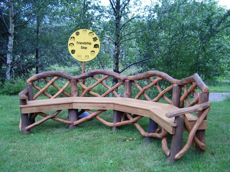 Rustic Outdoor Furniture | Coppice Creations - Rustic Garden Furniture and Fencing from the Wyre ...
