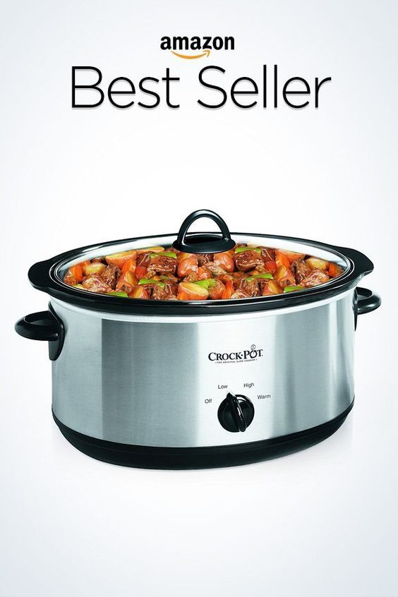 34d7d7f3318 Crock-Pot 6-Quart Cook   Carry Manual Portable Slow Cooker