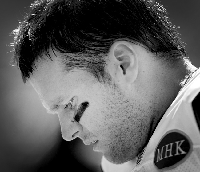 TOM BRADY He makes football the most beautiful sport in the world.