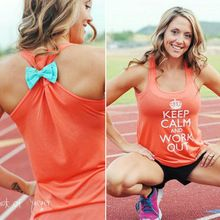 Женская одежда для фитнеса: майки