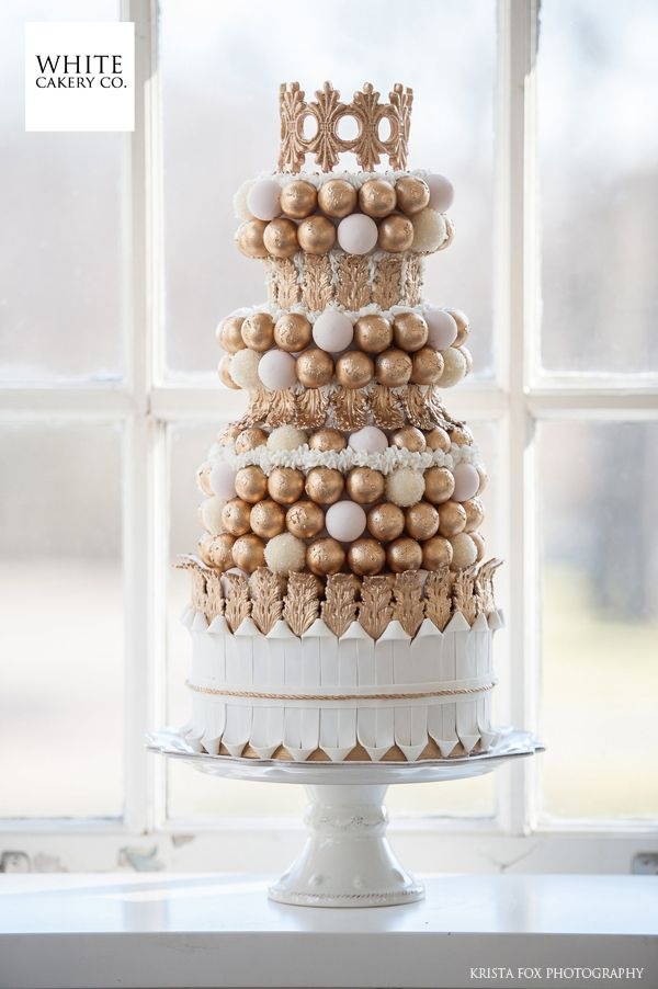 Beautiful Cake Pictures Elegant Of Tiers Gold Chocolate Truffles