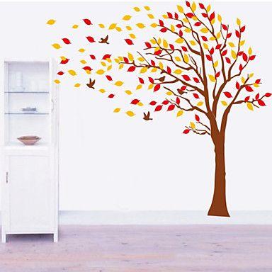αυτοκόλλητα τοίχου αυτοκόλλητα τοίχου, μεγάλα αυτοκόλλητα τοίχου δέντρο PVC – EUR € 10.55