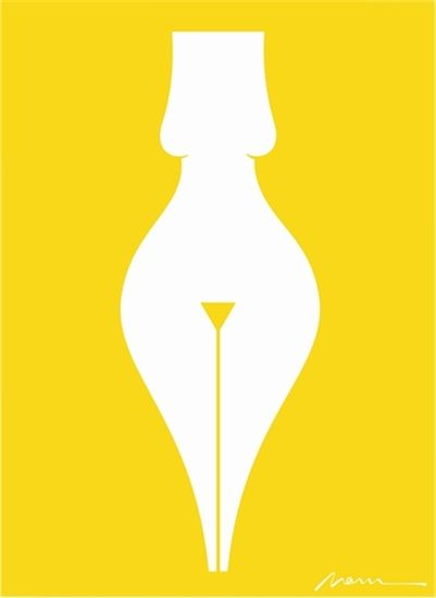 NOMA BAR OPEN CUTOUTS  EROTIC WRITING [YELLOW]