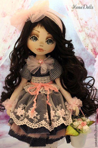 Алиса - розовый,кукла,кукла ручной работы,кукла в подарок,кукла текстильная