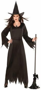 PartyBell.com - Black Magic Witch Costume Adult Women