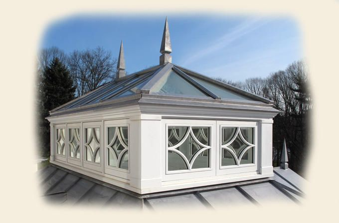 Roof lantern skylights and lanterns on pinterest for Cupola for shed