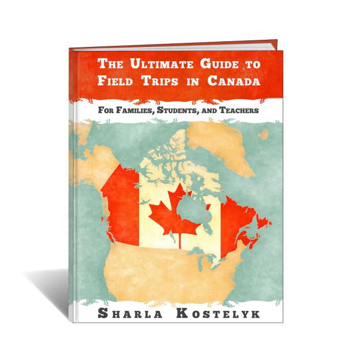 The Ultimate Guide to Field Trips in Canada is 75 Pages with almost 600 links that allow you to experience Canada as never before.