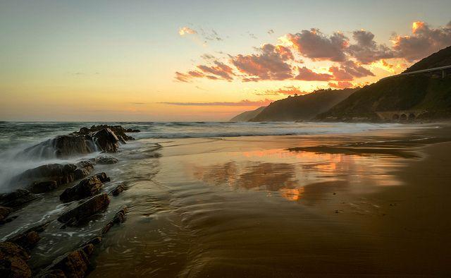 Lentjies Klip Beach, Wilderness, Garden Route South Africa