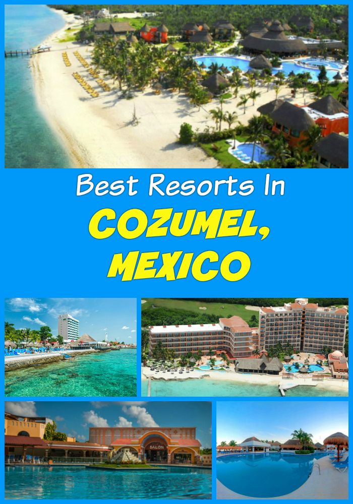 Top ten all inclusive cozumel resorts cozumel beach for The best all inclusive hotels