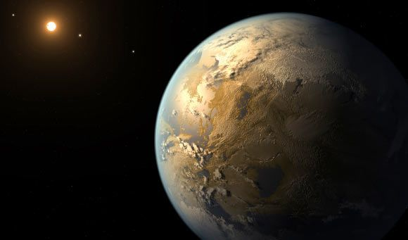 This artistic concept shows Kepler-186f. Image credit:  @NASA Ames / SETI Institute / JPL-CalTech. FORGET ABOUT MARS !! #TEEN #RT !!