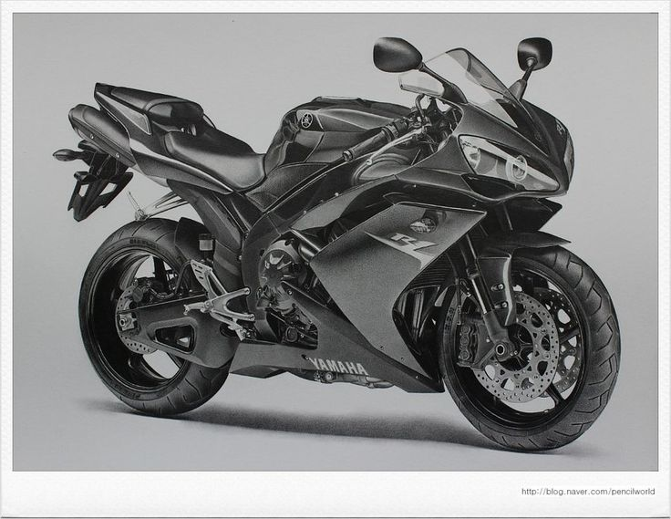 YAMAHA YZF - R1 Drawing by sharppower on deviantART