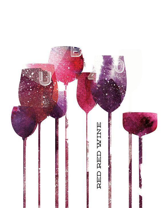 "Red Red Wine Poster  www.LiquorList.com ""The Marketplace for Adults with Taste!"" @LiquorListcom   #LiquorList.com"