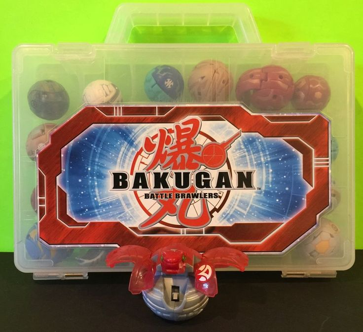 Lot Of 17 Bakugan Battle Brawlers Transforming Figure Balls And Case  | eBay