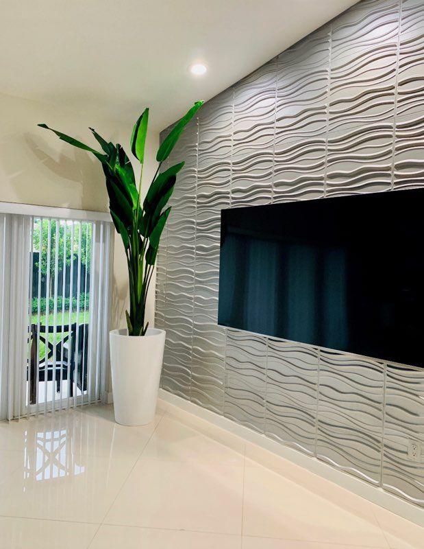 3D Wall Panels – Plant Fiber